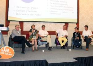 """IASSIDD 2014: Runder Tisch """"Inklusion in der Gemeinde"""""""