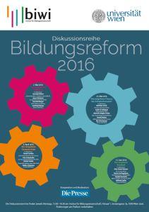 Poster Bildungsreform