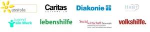 Logos Behindertenorgas_GuKG-Initiative